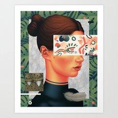 Expressions II Art Print