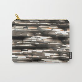 Silver metal speed Carry-All Pouch