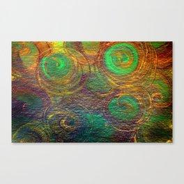 Swivel and Swirl Canvas Print