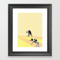 Mountaineers Framed Art Print