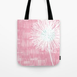 Pink Doodle Floral by Friztin Tote Bag