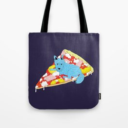 Pizza Dog Tote Bag