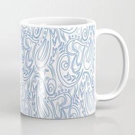 Swirls and Hearts Coffee Mug
