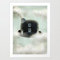 dreamer Art Prints featuring Dreamer by Eric Fan