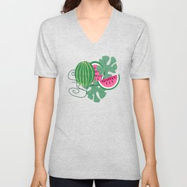 Watermelons Unisex V-Neck