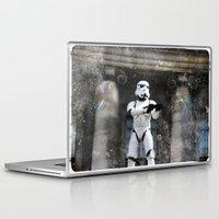 storm trooper Laptop & iPad Skins featuring Storm Trooper by BuyArt