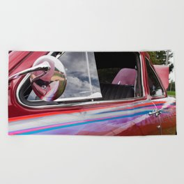 Vintage Car 6 Beach Towel