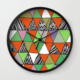Triangle 2 Wall Clock