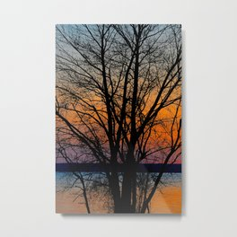 Potomac Sunset Metal Print