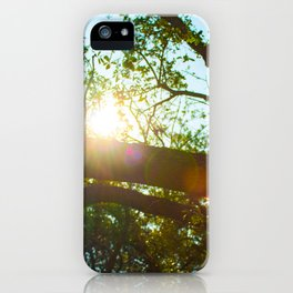 Skies Above (IV) iPhone Case