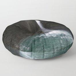 Slap Kozjak Waterfall Floor Pillow