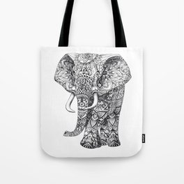 AZTEC HAND DRAWING ELEPHANT Tote Bag