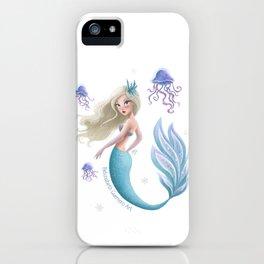 Winter Mermie iPhone Case