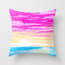 Pan Sky Throw Pillow