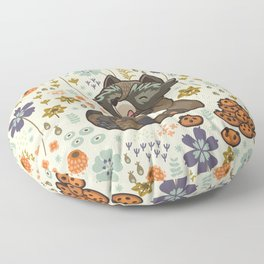 Free & Wild 3 Floor Pillow