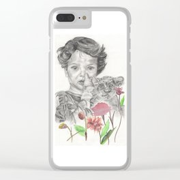 Wild life Clear iPhone Case