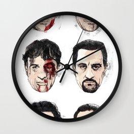 De Niro Wall Clock