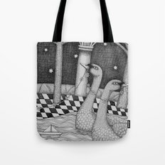 The Star Flowers (2) Tote Bag