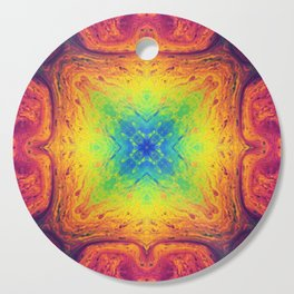 Psychedelic Two Cutting Board