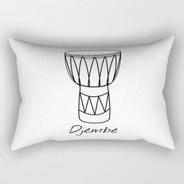 Djembe Rectangular Pillow
