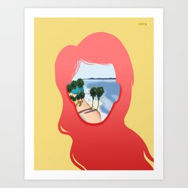 Cali Dreaming Art Print