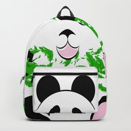 THE PANDA is a symbol of gentleness and strength. it is an auspicious symbol of peace, harmony Backpack