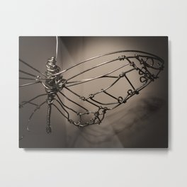 Broken Butterfly  Metal Print