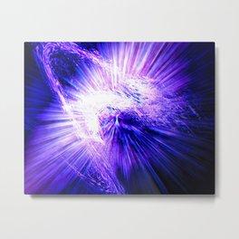 Regeneration in Ultra-violet Metal Print