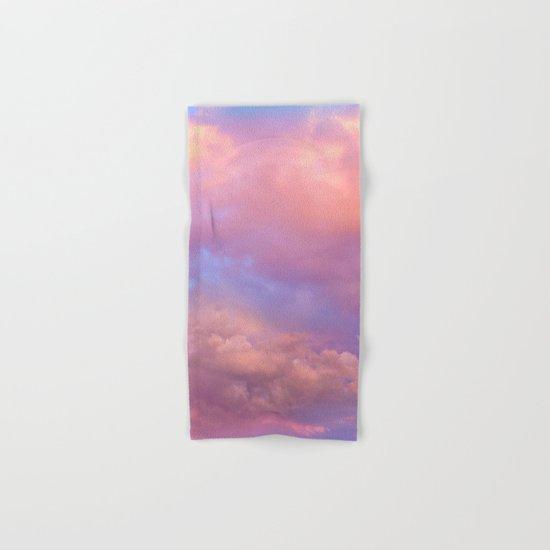 See the Dawn (Dawn Clouds Abstract) Hand & Bath Towel