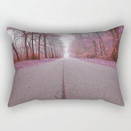 Misty Wonderland Road Rectangular Pillow