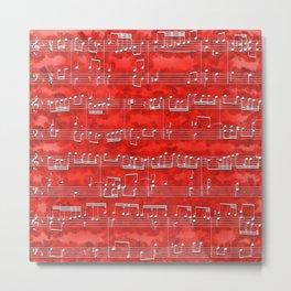 Nota Bene (red) Metal Print