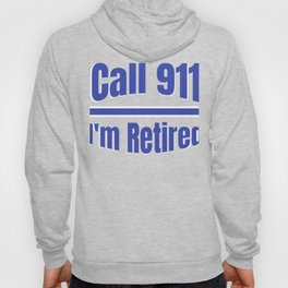 Retired Police Officer Cop Retirement Gift design Hoody