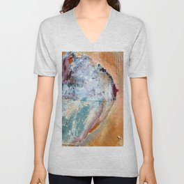 I Covered Her Naked Breast with My Shirt Unisex V-Neck