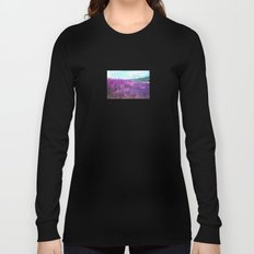 Wild Sunflowers by the Road Long Sleeve T-shirt