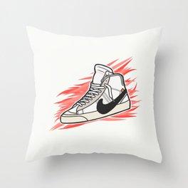 Blazer x Off White Throw Pillow
