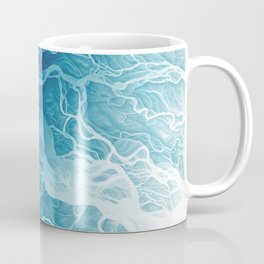 Susitna River Channels Coffee Mug