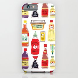 Asian Seasonings iPhone Case