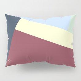 Pastel Color Patchwork #abstractart #abstract #modern #kirovair #graphic #design #fallcolors Pillow Sham