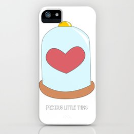 Precious little thing iPhone Case