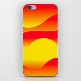 Abstract Sunset iPhone Skin