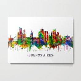 Buenos Aires Argentina Skyline Metal Print