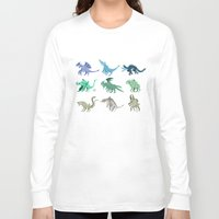 kaiju Long Sleeve T-shirts featuring Kaiju by Glassraptor
