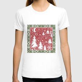 Winter. Christmas. T-shirt