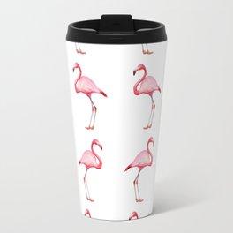 Flamingos #6 Travel Mug