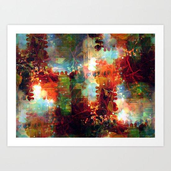 Saturday 5 January 2013: [remembers to ream embers] Art Print