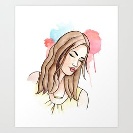 Raine Art Print