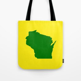 Wisconsin Football Tote Bag