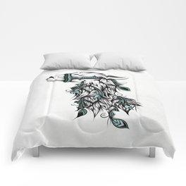 Poetic Llama Comforters