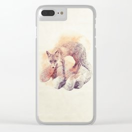 I'm in your hands now Clear iPhone Case