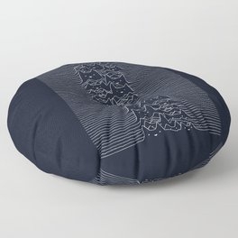 Furr Division Cats (Dark Blue) Floor Pillow